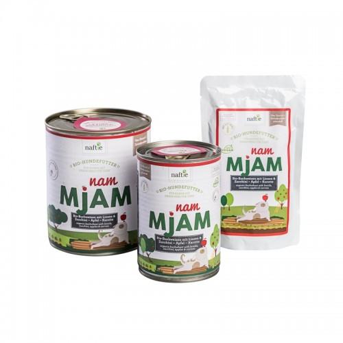 veganes Bio Hundefutter Nassfutter NAM MJAM