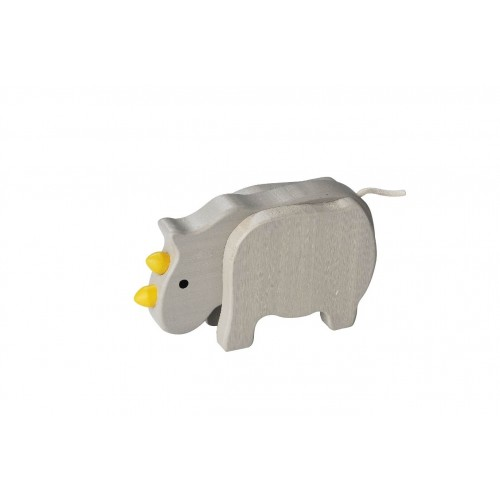 EverEarth Rhinoceros - FSC® Bamboo eco wooden toy