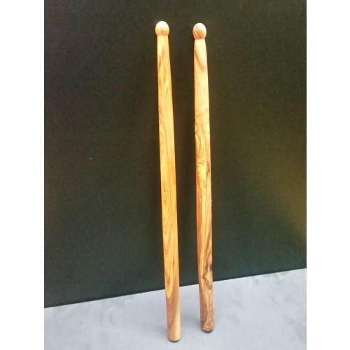 Olive Wood Drumsticks, Natural » D.O.M.