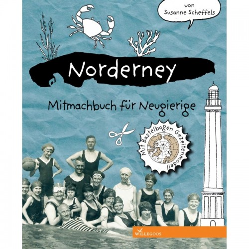 Norderney - German Hands-on book for curious children | Willegoos