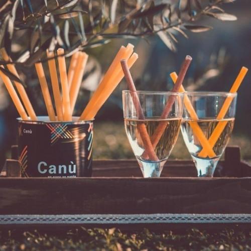 Canù organic pasta drinking straw - vegan & GMO free