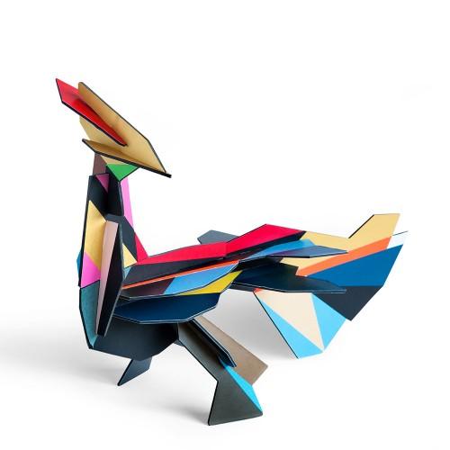 Tinker Toy Firebird