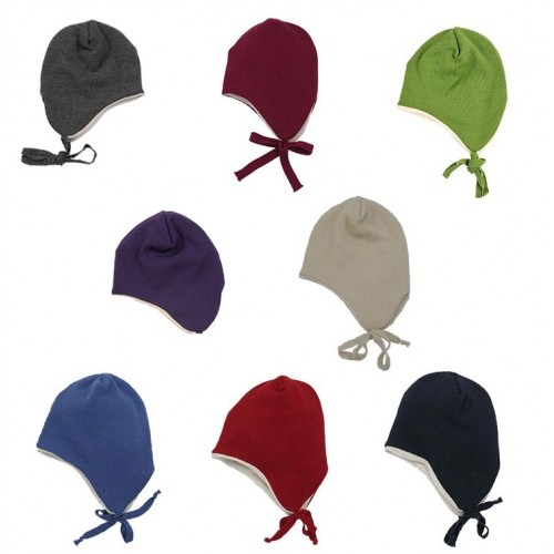 Ear Flap - Baby Beanie - Hat made of Merino Wool | Reiff