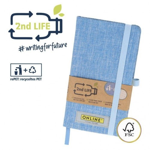 Notebook 2nd LIFE 96 pages dottet FSC-paper | Online Pen