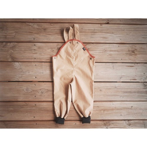 Outdoor Trousers with Cuffs, Eta-Proof Organic Cotton, caramel | Ulalue