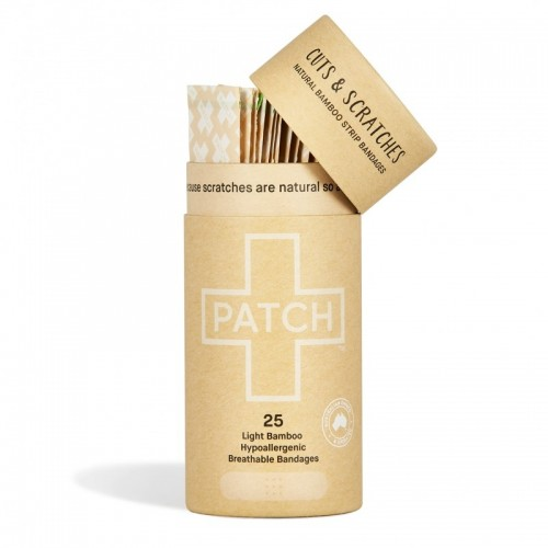 PATCH Natural Adhesive Bandages of organic Bamboo