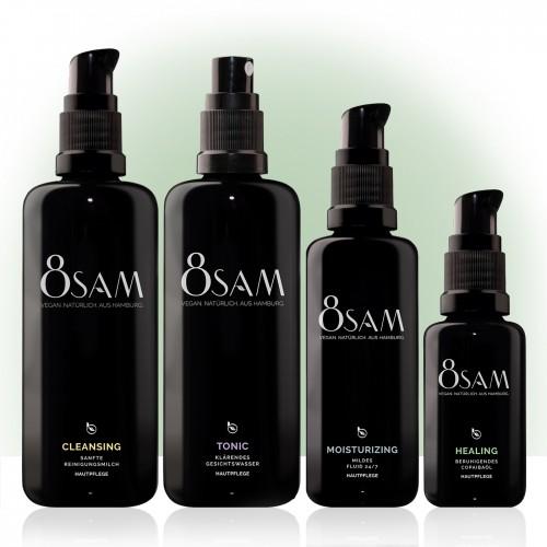 8SAM Mild Healing - vegan facial care set No5 | Blattkultur