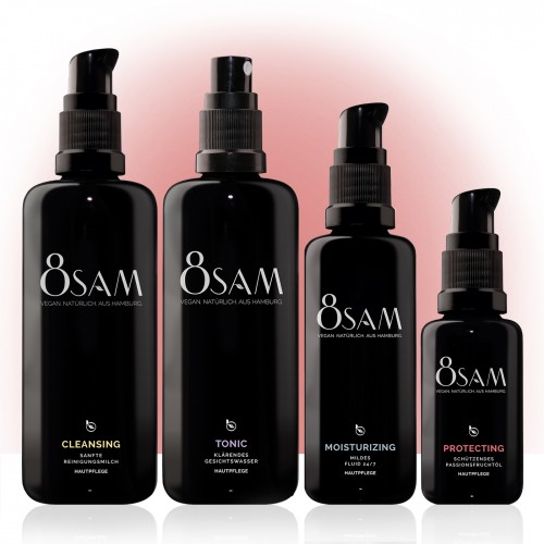 8SAM Mild Protecting - vegan care set No6 for face skin