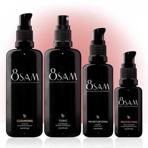 8SAM Mild Protecting - vegan care set No6 for face skin