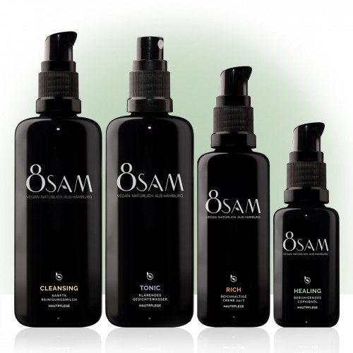 8SAM Rich Healing - Facial Care Set No1 for Complexion
