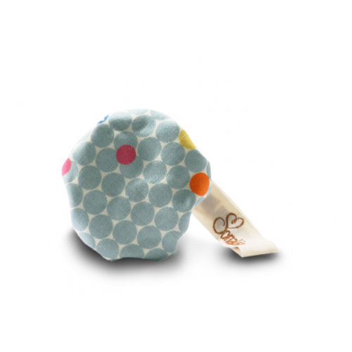 "Organic Cotton Dummy protection ""Pipo"" dotty/moony"