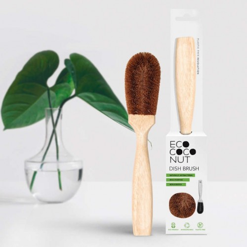 Plastic-free EcoCoconut Kitchen Cleaning Brush