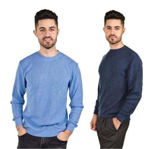Mens Alpaca Pullover Classic Sweater George | AlpacaOne