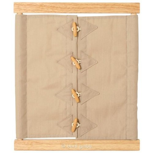 Montessori Dressing Frame with Toggle Buttons | Bartl