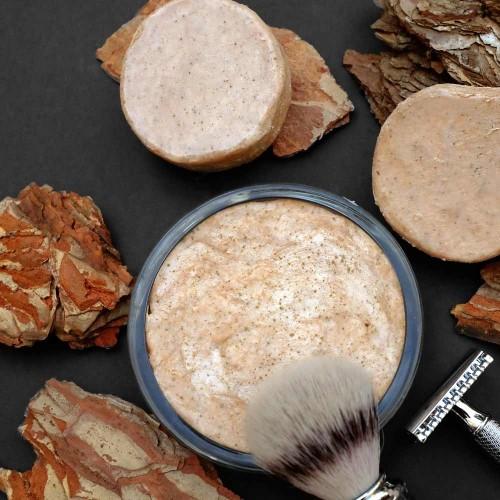 Valloloko natural shaving soap Terracotta Warrior