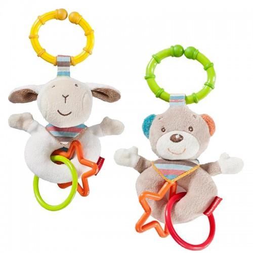 Rattle Clip Bear or Sheep – BPA free! | Baby Nova