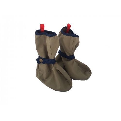 Baby Galoshes of EtaProof® organic cotton & felt insole | Ulalue