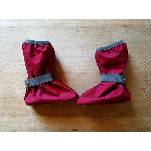 EtaProof Baby Rain Boots Overshoes with felt sole berry | Ulalue