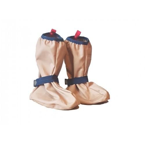 Rain Boots Overshoes with Felt Sole - EtaProof Eco Cotton Footsies | Ulalue