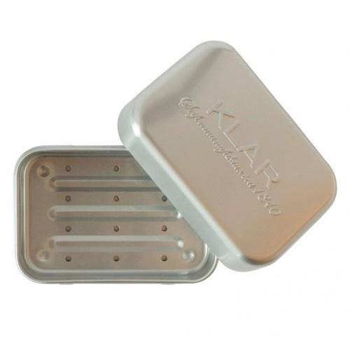 Travel Soap Box with Drip Tray - Klar Soap