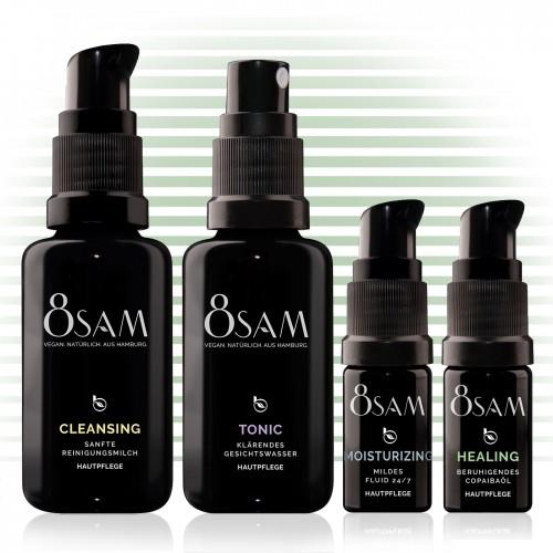 Women's Travel Kit Mild Healing - Blattkultur natural cosmetics