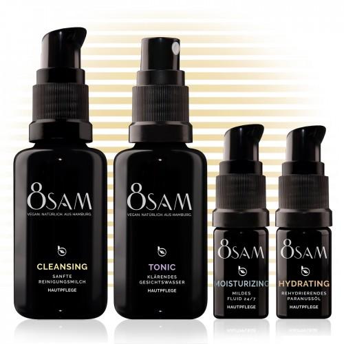 Travel Kit Mild Hydrating - 8SAM natural cosmetics