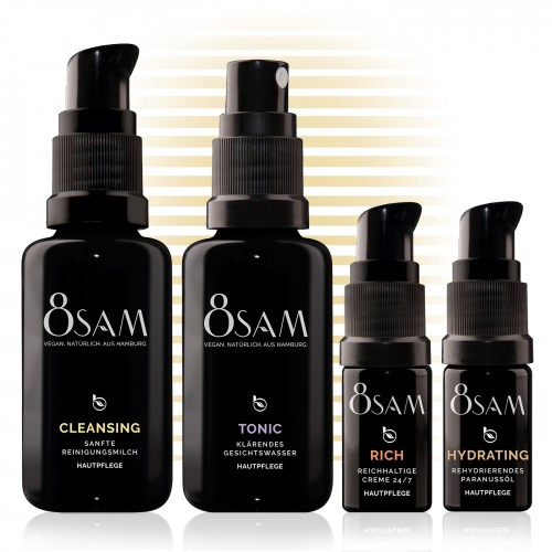Travel Kit Rich Hydrating by 8SAM natural cosmetics