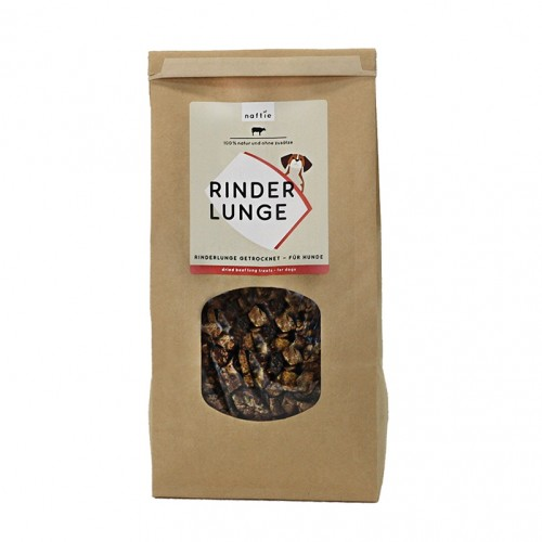 Dried Beef Lungs for dogs & cats by naftie