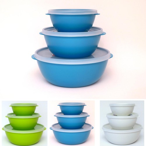 Bioplastic Food Storage Container Set, various colours