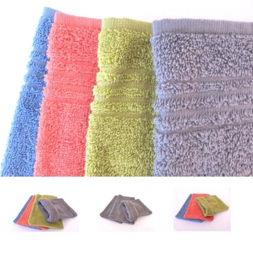 Clarysse C2C Fairtrade Cotton Wash Mitt various colour sets