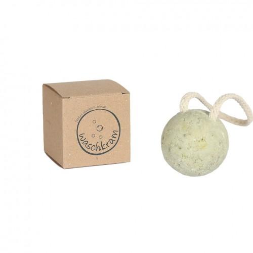 Waschkram Shampoo-Kugel MINZE & Bio Avocado Öl
