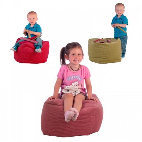 Hassock Mini Kubi for kids – OEKO TEX | Made in Germany