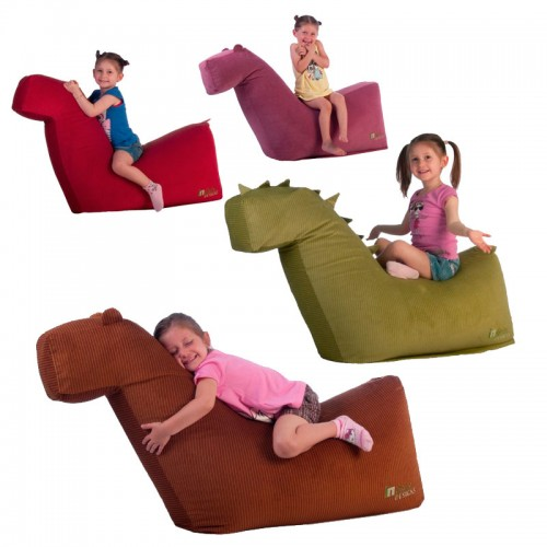 Eco seat cushion for kids - Seating furniture Erik and Nina, Romi, James and Alex