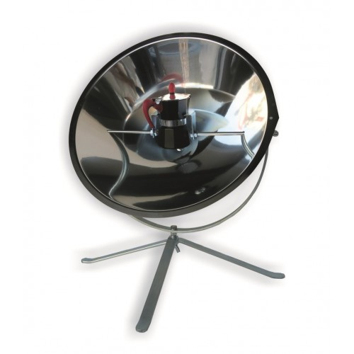 Solar cooker CafeSol & accessories & LED lamp | Sun and Ice