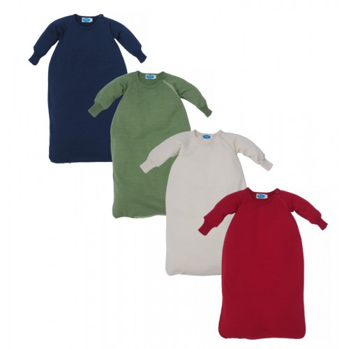 Organic Terrycloth Baby Sleeping Bag with arms | Reiff