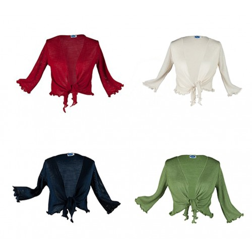 "Bolero Organic Wool/Silk ""Carmen"" by Reiff"