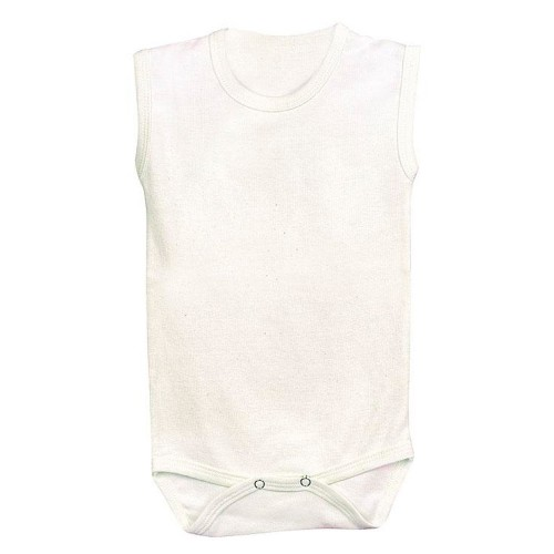 Sleeveless Summer Baby Bodysuit – Organic Cotton | Lotties