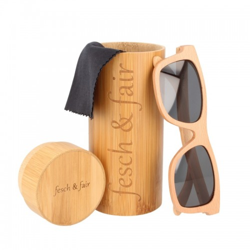 Eco & vegan certified sunglasses made of beechwood