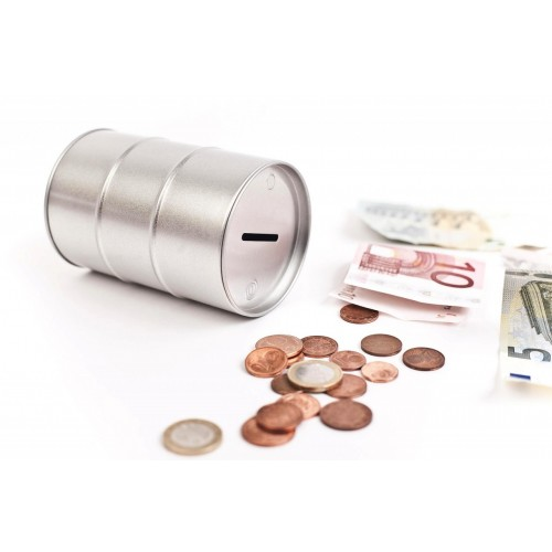 Tinplate Money Box - Oildrum   Tindobo