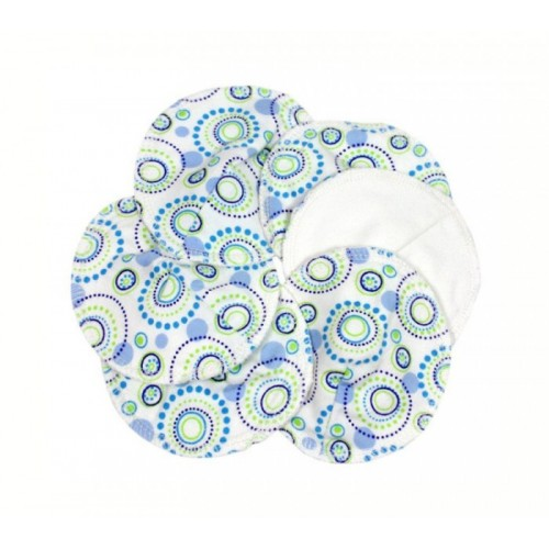 Orbit - Waschbare Stilleinlagen Bio-Baumwolle | ImseVimse