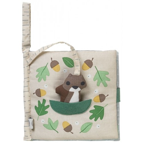 Squirrel so hungry – Eco Fabric Book | Franck & Fischer