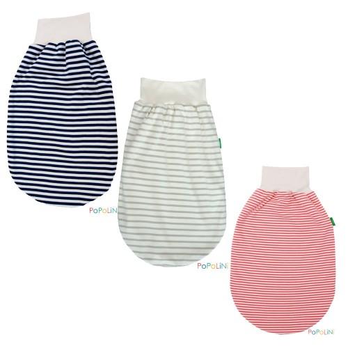 Popolini Eco Romper Bag Summer – Interlock striped