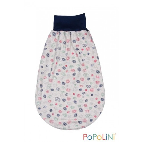 "Eco Romper Bag ""Scribble"" Interlock Organic Cotton 