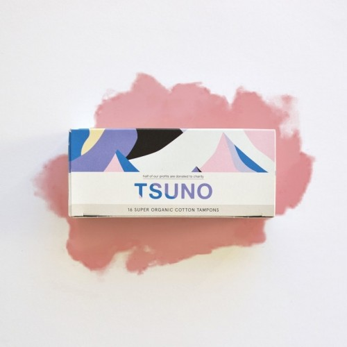 Vegan regular pads made of bamboo fibers | Tsuno