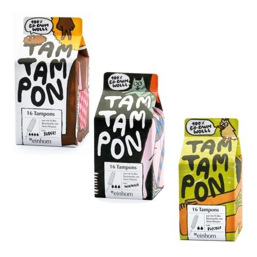 Eco Cotton Sanitary Tampon - einhorn TamTampon