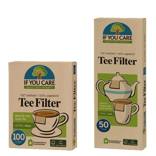 Unbleached Eco Tea Filters » If You Care