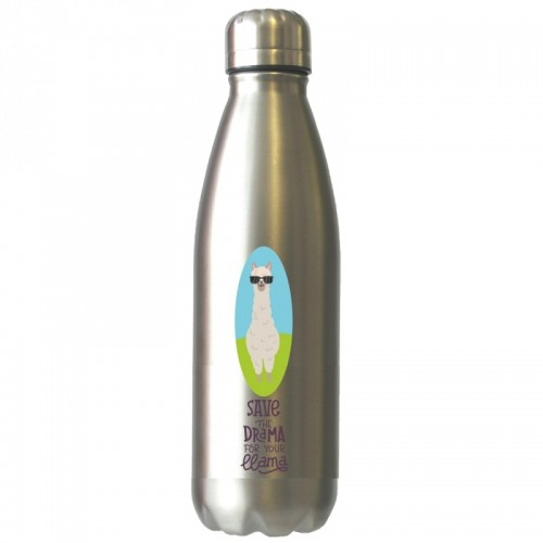 Save the Drama for your llama stainless steel thermos bottle | Dora's