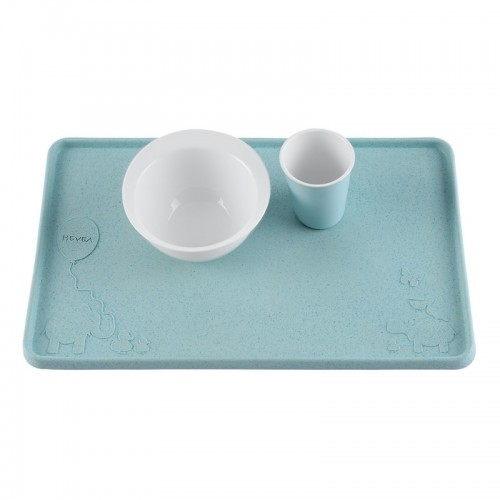 Hevea Placemat Upcycled Natural Rubber, Blue