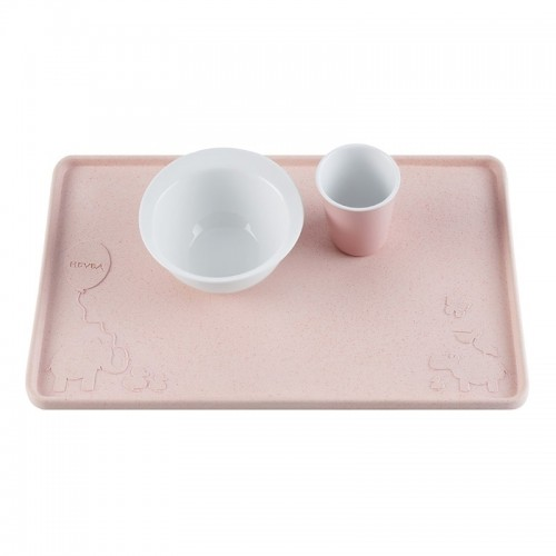 Hevea Placemat Upcycled Natural Rubber, Rose