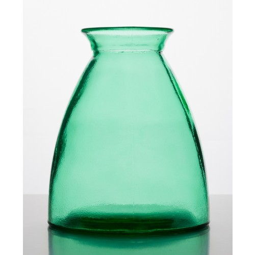 Recycling Glass Vase, green | Vidrios Reciclados San Miguel